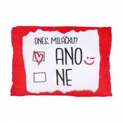 Obrázek ALBI Humorný polštář - Ano/ne