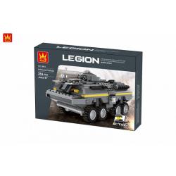 Obrázek Stavebnice vojenské vozidlo 384 dílů