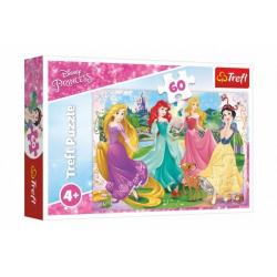 Obrázek Puzzle Princezny Disney 33x22cm 60 dílků v krabičce 21x14x4cm