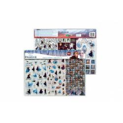 Obrázek Samolepky Frozen II/Ledové království II 400ks v sáčku 40x30cm