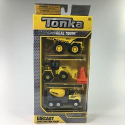 Obrázek Kovové autíčko Tonka 3 ks