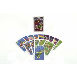 Obrázek Kvarteto Pojď s námi do pohádky společenská hra - karty v papírové krabičce 6x9x1,5cm