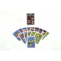 Obrázek Kvarteto Poď s nami do rozprávky spoločenská hra - karty v papierovej krabičke 6x9x1,5cm