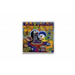 Obrázek Knižka Leporelo - Krtko a jeseň 15,5x15cm 24m +