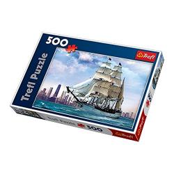 Obrázek Trefl Puzzle Plachetnice 500 dílků