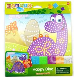 Obrázek Mozaikový obrázek 25x25cm - Dino
