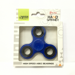 Obrázek Fidget Spinner kov/plast 7cm - modrá
