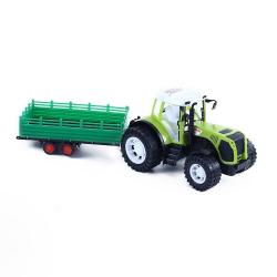 Obrázek Traktor s vlečkou v krabici 56 cm