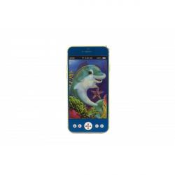 Obrázek Mobil/telefon plast 13cm  se světlem se zvukem -