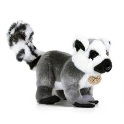 Obrázek plyšový lemur stojící, 28 cm