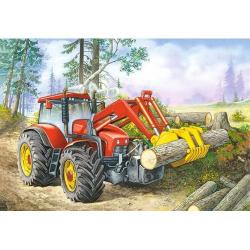 Obrázek Puzzle 60 dílků - Traktor nakladač