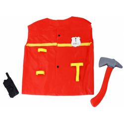 Obrázek plášť hasičský s doplňky dětský