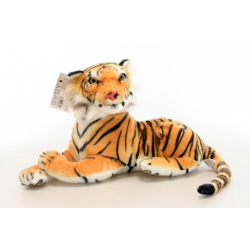 Obrázek Plyš tygr ležící 47 x 23 cm