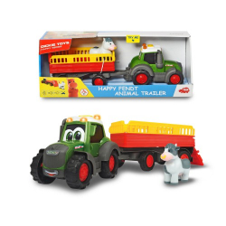 Obrázek Traktor Happy Fendt s přívěsem 30cm