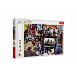 Obrázek Puzzle Harry Potter/Bradavické vzpomínky 500 dílků 48x34cm v krabici 40x27x4cm