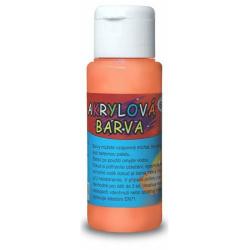 Obrázek Akrylová barva 60ml- oranžová
