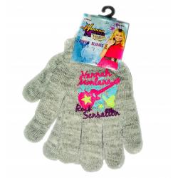 Obrázek Dětské rukavice Hannah Montana - šedá