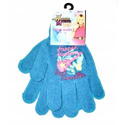 Obrázek Dětské rukavice Hannah Montana - modrá