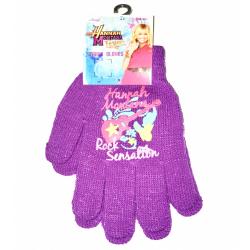 Obrázek Dětské rukavice Hannah Montana - fialová
