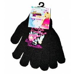 Obrázek Dětské rukavice Hannah Montana - černá