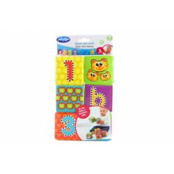 Obrázek Playgro - Měkké pěnové kostky nové 6ks