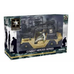 Obrázek Combat Hero - voják s SUV