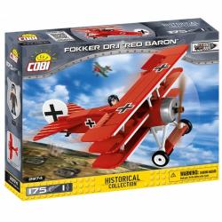 Obrázek Cobi 2974  Great War Fokker Dr. 1 RED BARON