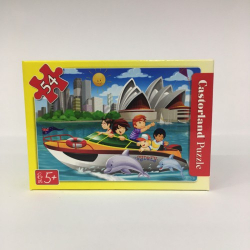 Obrázek Minipuzzle 54 dílků Cestování - Na člunu