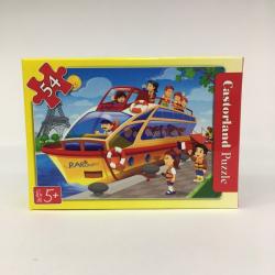 Obrázek Minipuzzle 54 dílků Cestování - Výletní loď