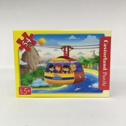 Obrázek Minipuzzle 54 dílků Cestování - Lanovka