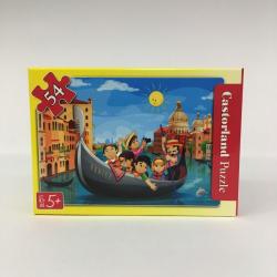 Obrázek Minipuzzle 54 dílků Cestování - Na gondole