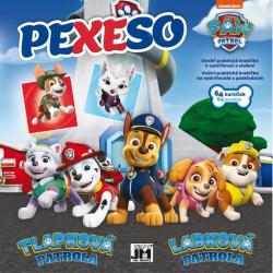 Obrázek Pexeso v sešitu Paw Patrol