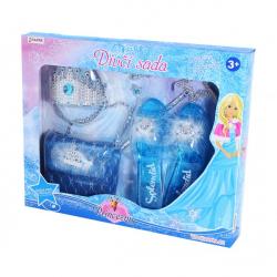 Obrázek sada princezna zimní království s kabelkou a střevíčky
