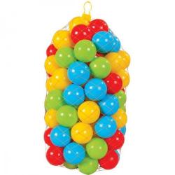 Obrázek pytel míčů 9 cm - 100 ks