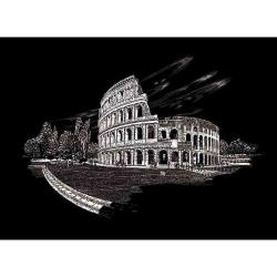 Obrázek Seškrabovací obrázek- Koloseum Řím