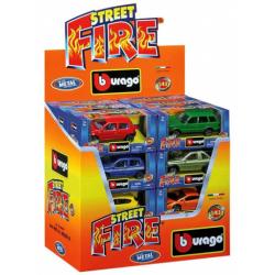 Obrázek Auto Bburago Street Fire kov 1:43 - různé druhy