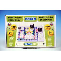 Obrázek Stavebnice Boffin 100 elektronická 100 projektů  30ks