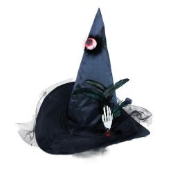 Obrázek klobouk čarodějnický s okem pro dospělé
