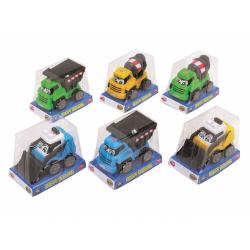 Obrázek Auto Pracovní Happy Builder 13 Cm, 6 Druhů