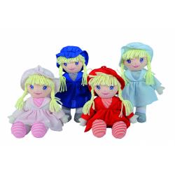 Obrázek panenka hadrová Dolly, 33 cm - různé druhy