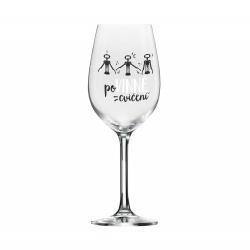 Obrázek ALBI Mega sklenice na víno - Povinné cvičení