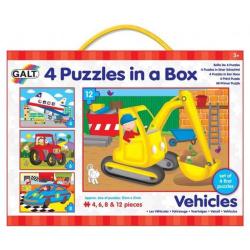 Obrázek 4 Puzzle v krabici - dopravní prostředky