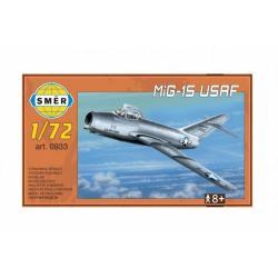 Obrázek Model MiG-15 USAF 1:72 15x14cm v krabici 25x14,5x4,5cm