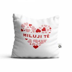 Obrázek Polštář Valentýn - Miluji Tě