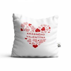 Obrázek Polštář Valentýn - Krásného Valentýna