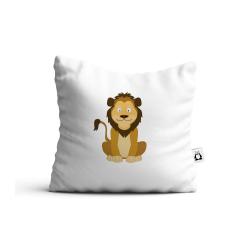 Obrázek Polštář Veselá zvířátka - Lvíček