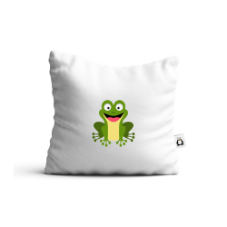 Obrázek Vankúš Veselá zvieratká - Žabička