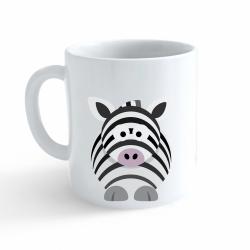 Obrázek Hrnek Veselá zvířátka - Zebra