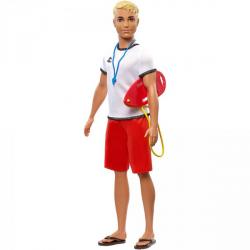 Obrázek Barbie Ken povolání - Záchranář FXP04