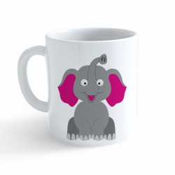 Obrázek Hrnček Veselá zvieratká - Sloník